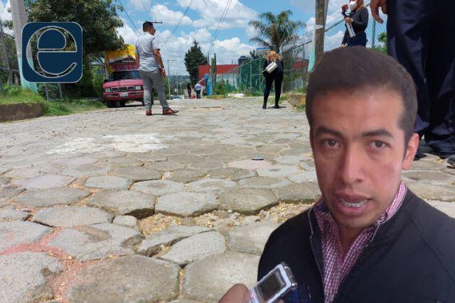 Vecinos de Tepeyanco piden a Bladimir Zainos que arregle sus porquerías
