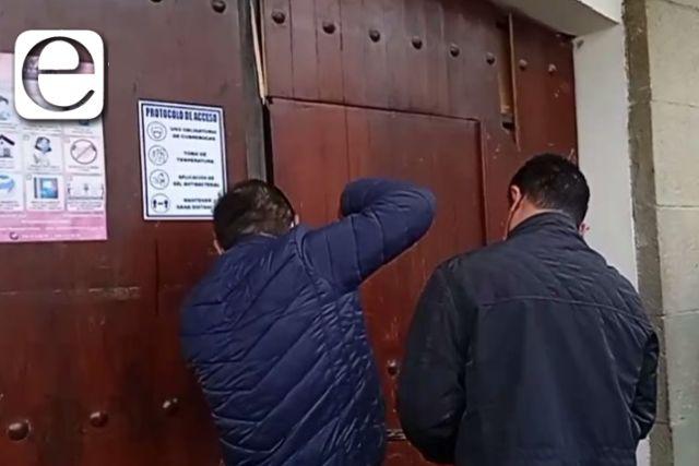 Eymard Grande deja tirada la entrega – recepción; reabren alcaldía