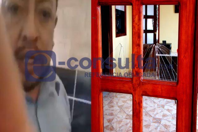 Alcalde teibolero va contra quienes vandalizaron la presidencia de Zitlaltepec