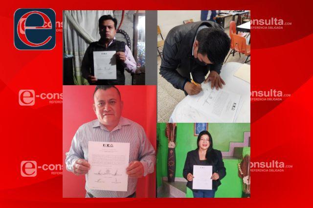 TET resuelve medios de impugnación de cuatro comunidades de Huamantla