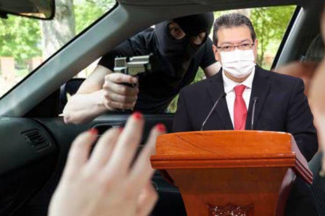 Más de 9 mil autos se robaron en la nariz de Mena
