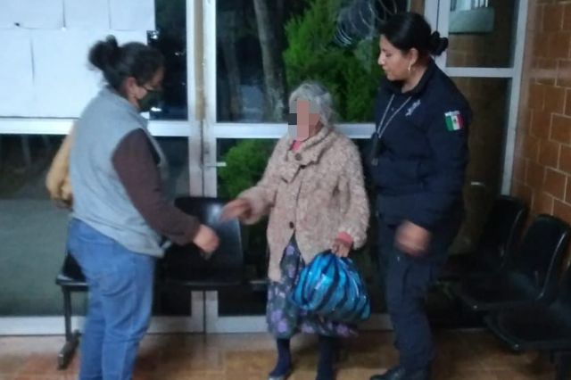 Ubica Policía de Apizaco a mujer de la tercera edad que fue reportada como ilocalizable