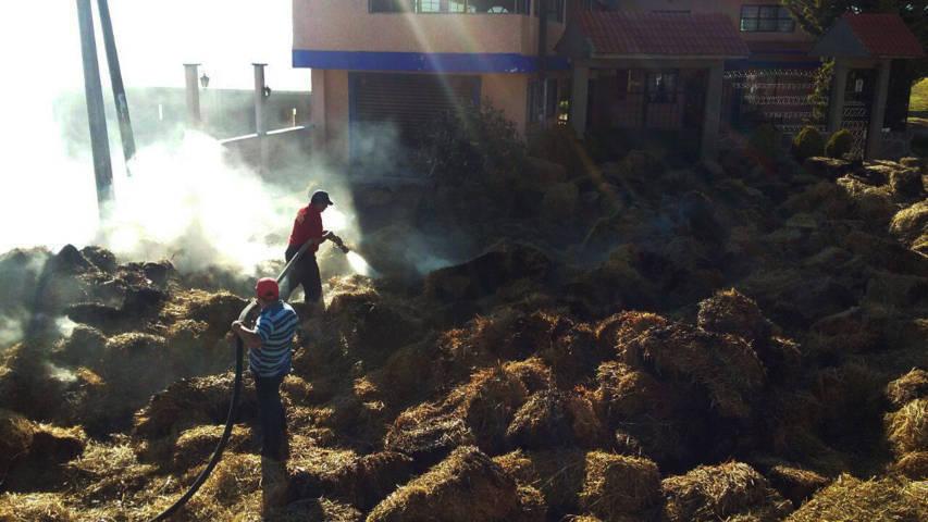 Atiende bomberos llamados de emergencia en Tlaxcala