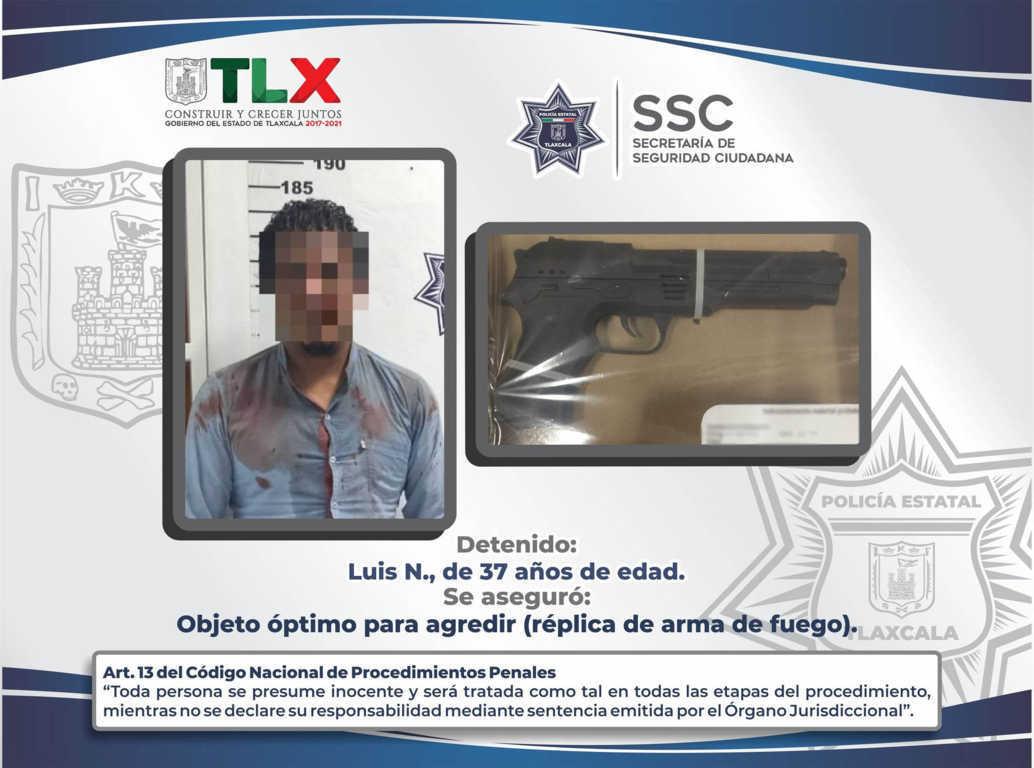 La SSC detiene en Apizaco a presunto responsable de robo a tienda de conveniencia