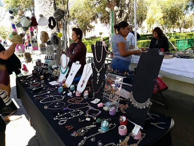 Inicia Expo-venta del Buen fin en el Zócalo de Tlaxcala
