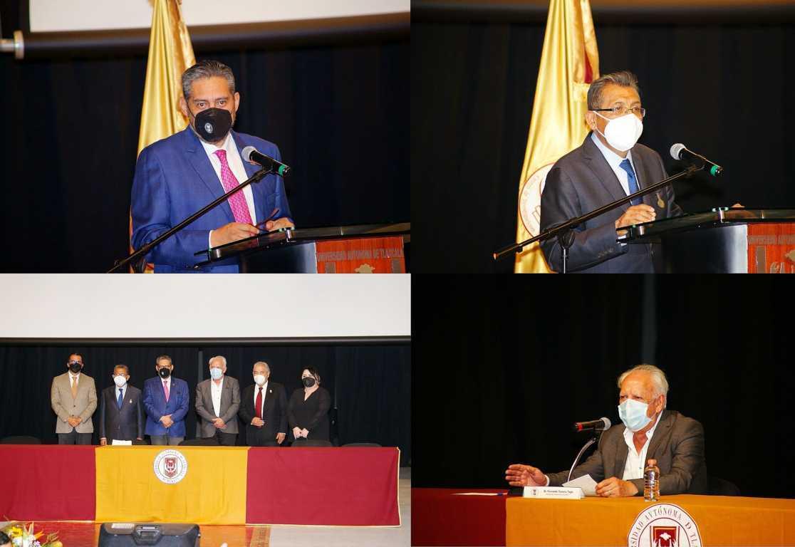 Presenta UATx a nuevo coordinador general del CIJUREP