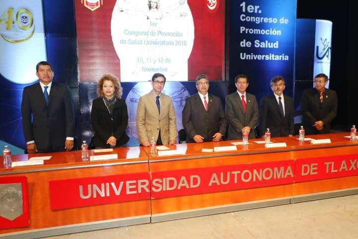 Pone en marcha la UAT el 1er. Congreso de Promoción de Salud Universitaria