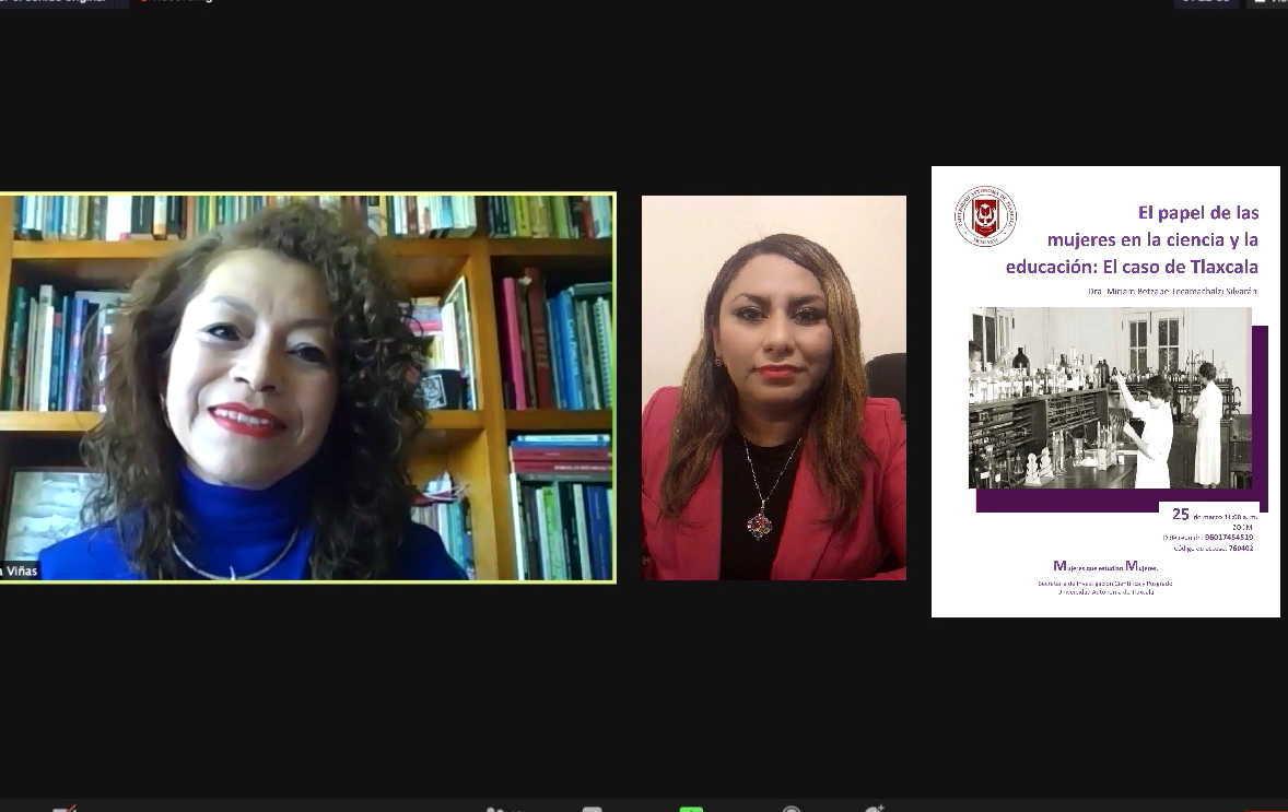 Hablarán en la UATx acerca de las mujeres en la ciencia y la educación