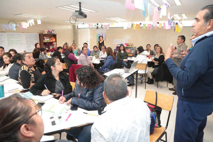 Promueve SEPE oferta académica de formación para personal de educación básica