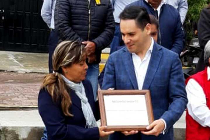 Certifica Coeprist a UBR y DIF municipal de Teacalco como espacios libres de humo