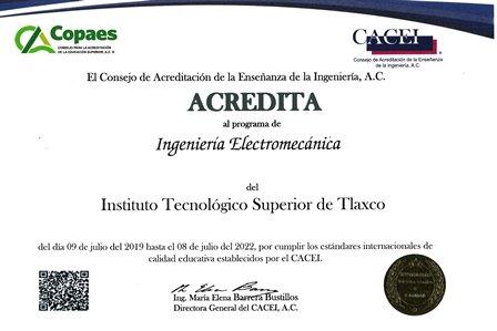 Tecnológico de Tlaxco obtiene acreditación internacional