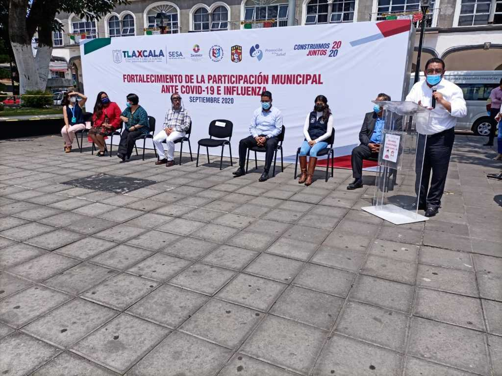 Inician operaciones Brigadas Municipales Ante Covid-19 en Zacatelco: SESA