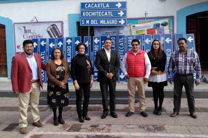 Colocan Secture y Secte 70 señales turísticas en los principales destinos de la entidad