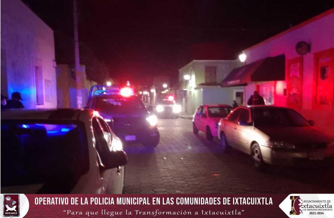 Se activan operativos los fines de semana en Ixtacuixtla