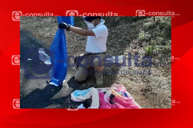 Policías y paramédicos de SPM atendieron a bebé en carretera Perimetral Malintzi