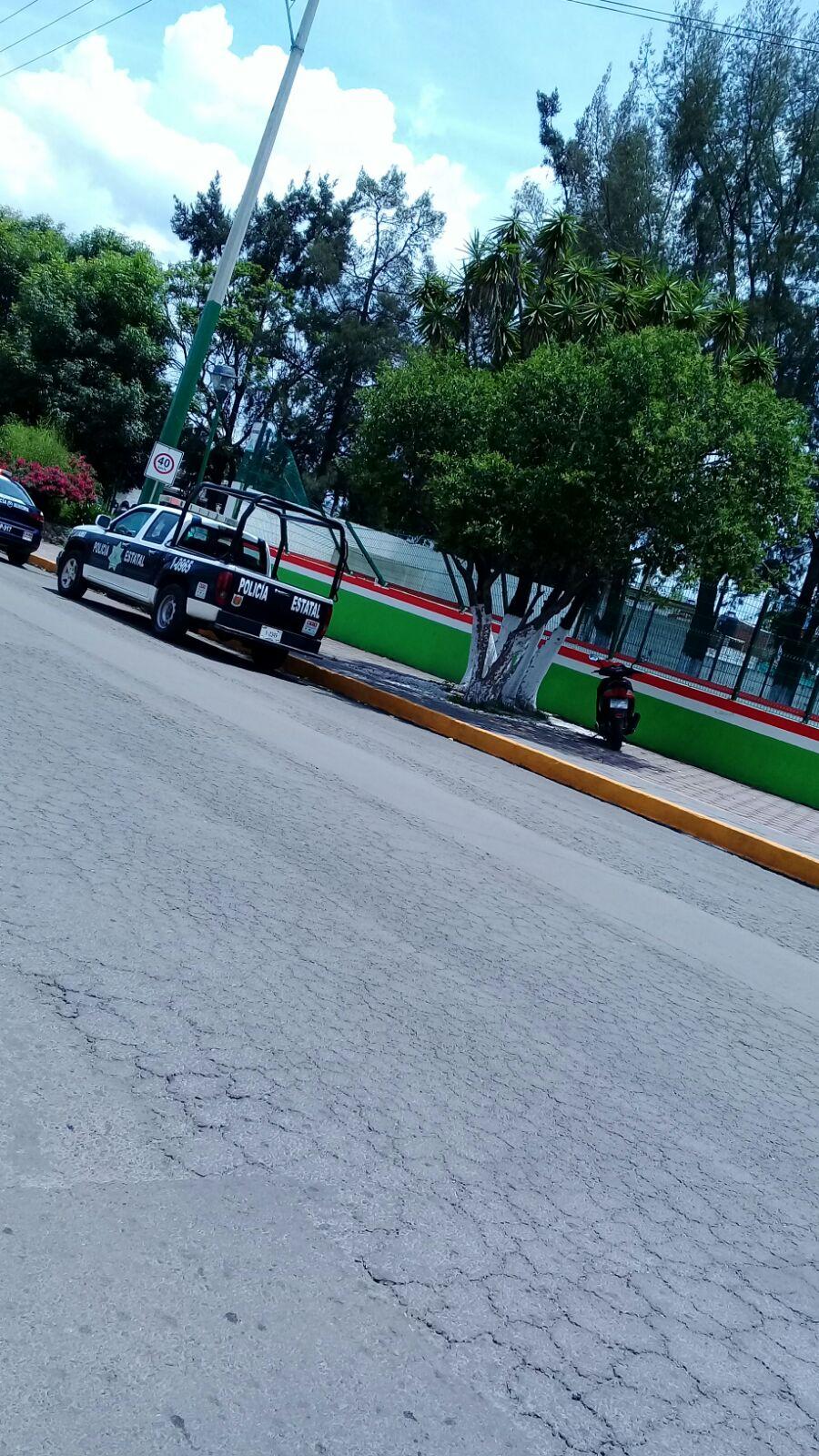 Aparece cadáver en parque de Chiautempan