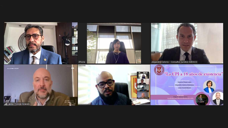 Disertan expertos acerca de la Corte Penal Internacional en la UATx