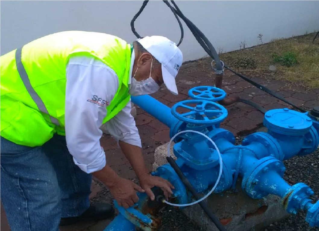 Instalan COEPRIST y CONAGUA 112 dosificadores  de cloro en 45 municipios