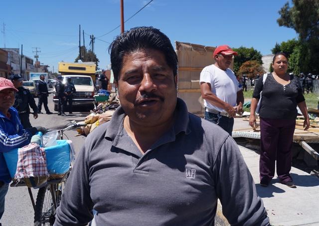 Comerciantes informales tenían permiso del Ayuntamiento