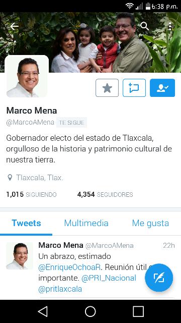 De manera discreta regresa Marco Antonio Mena a la vida pública