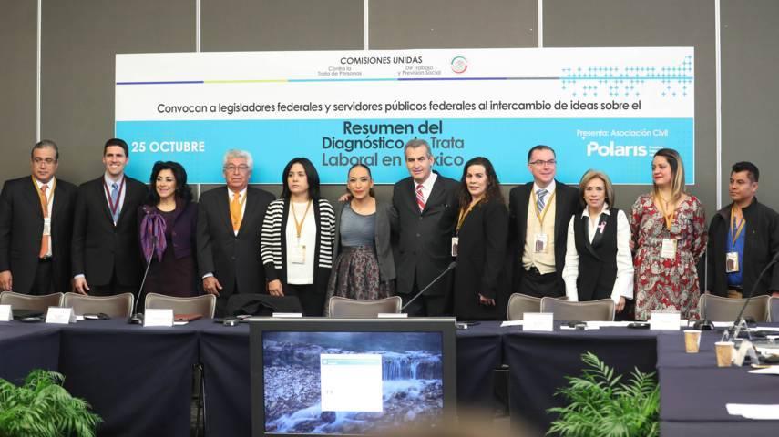 Trata de personas también debe ser combatida desde la óptica laboral: Adriana Dávila
