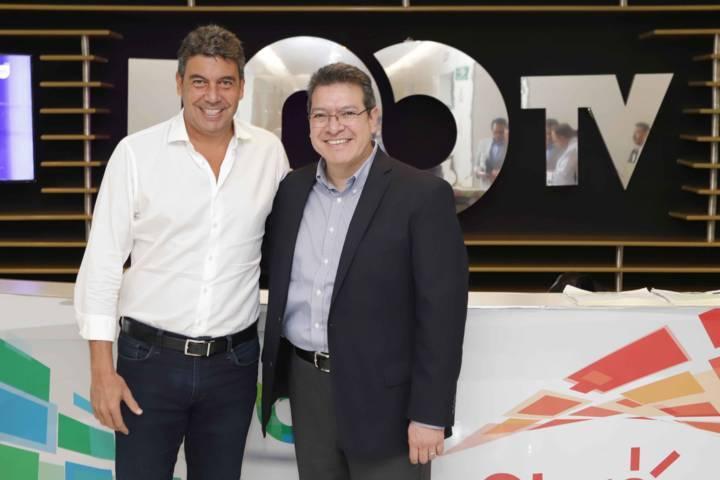 Se reúne Marco Mena con director de Fundación Telmex-Telcel