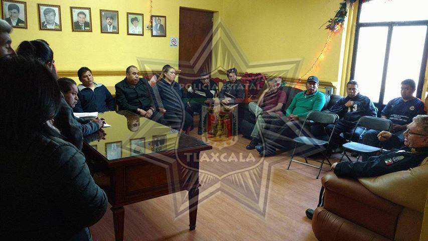 Diálogo y coordinación interinstitucional, en restauración de estructura policial en Amaxac: CES