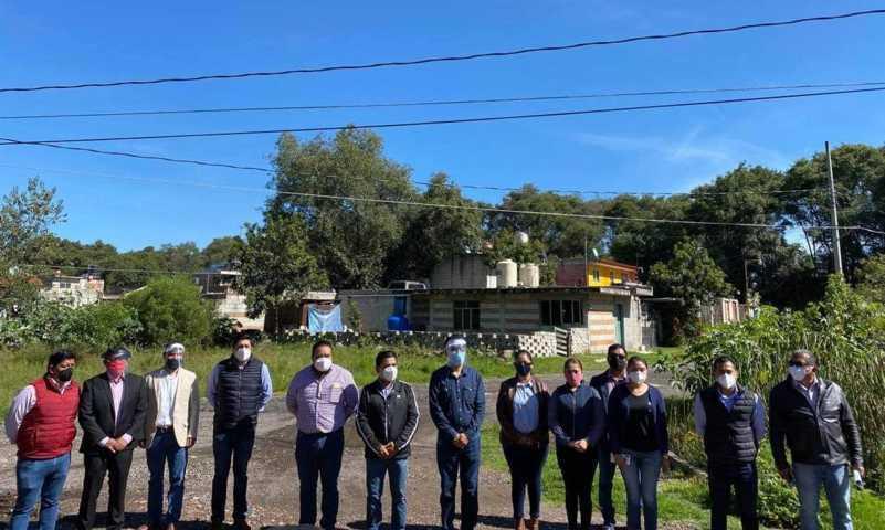 Concluyen delimitación territorial entre Papalotla y Xocohtzinco, Garrido
