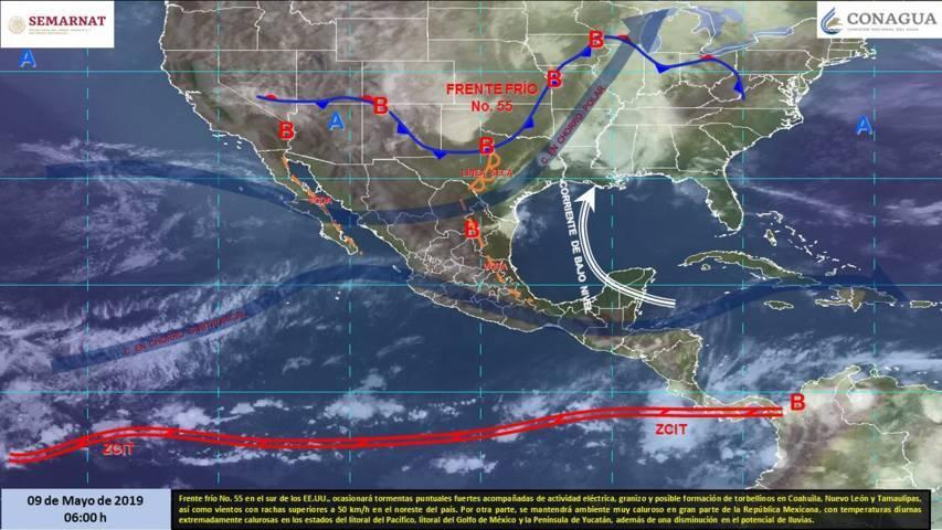 Continuarán las altas temperaturas en Tlaxcala