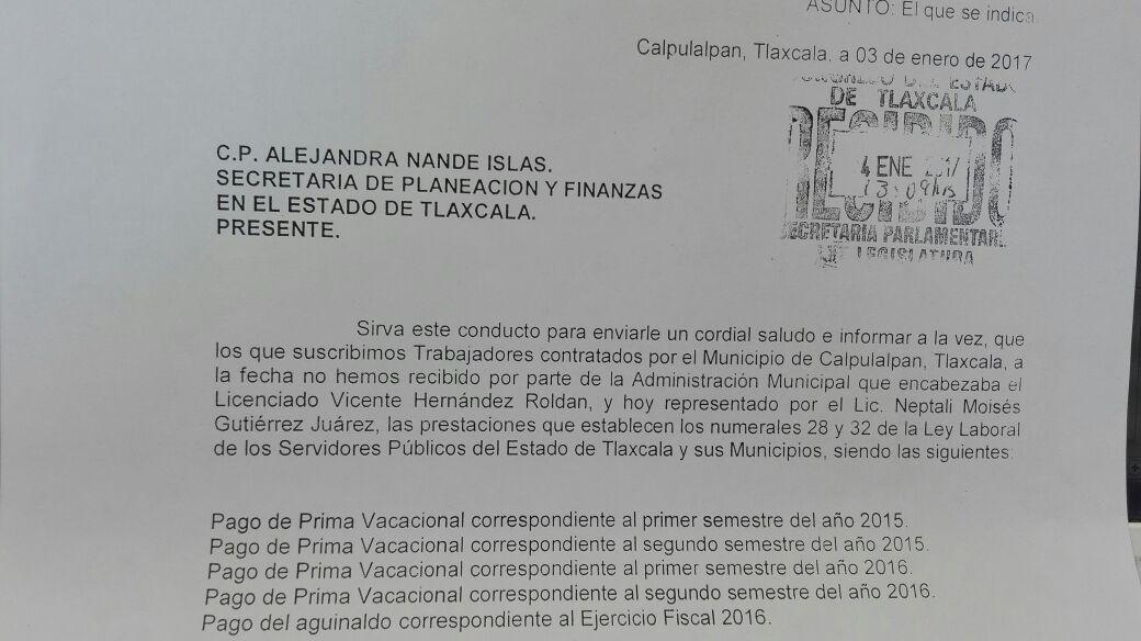 Vicente Hernández se fue del ayuntamiento sin pagar aguinaldos