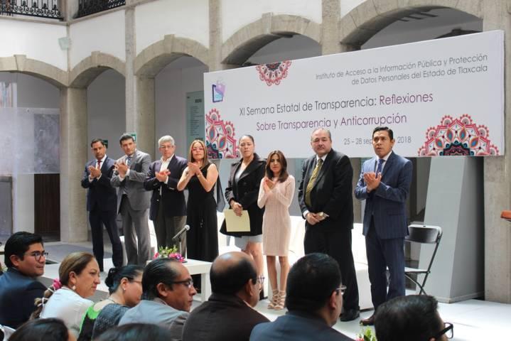 Inauguran en Congreso XI Semana De La Transparencia: Reflexiones Sobre Transparencia Y Anticorrupción