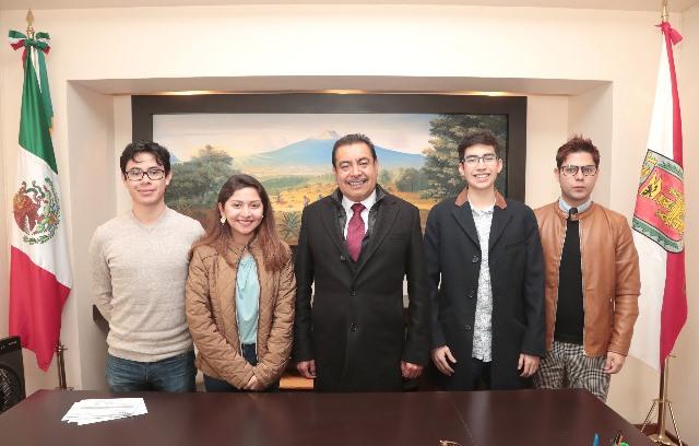 Monitorean autoridades a becarios tlaxcaltecas que estudian en China