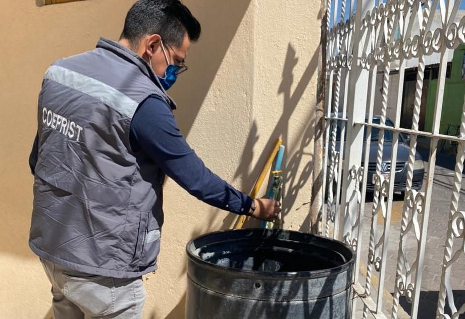 Realiza COEPRIST más de mil 400 monitoreos de cloro para garantizar calidad del agua