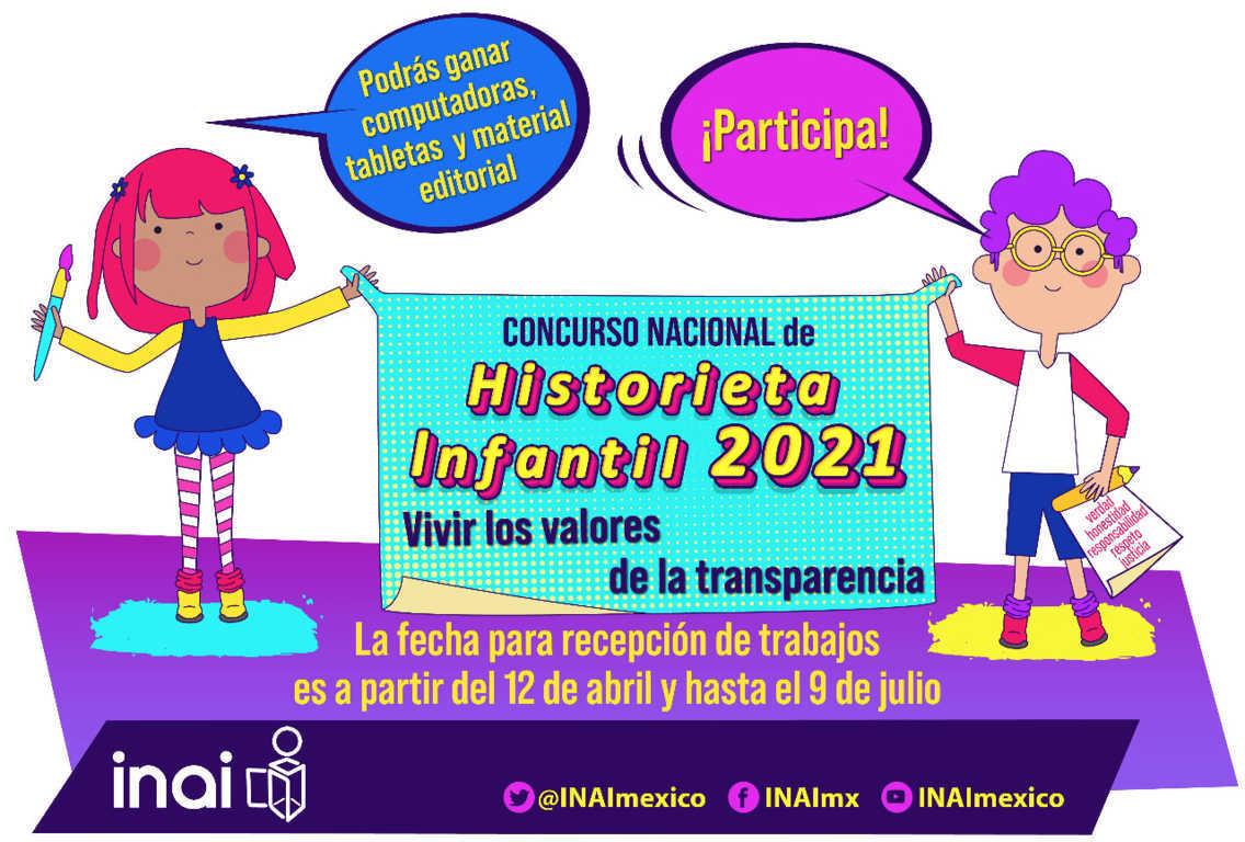 Invita SEPE  a participar en el concurso nacional Historieta Infantil 2021