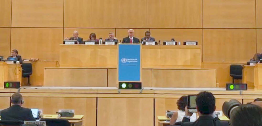 Participa Secretaría de Salud en la 71 Asamblea Mundial de la OMS
