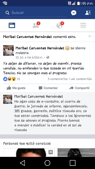 "Mamita de ""alcalde meón"" explota contra la prensa"