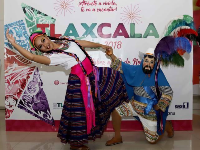 Presentan autoridades locales programa de Tlaxcala Feria 2018