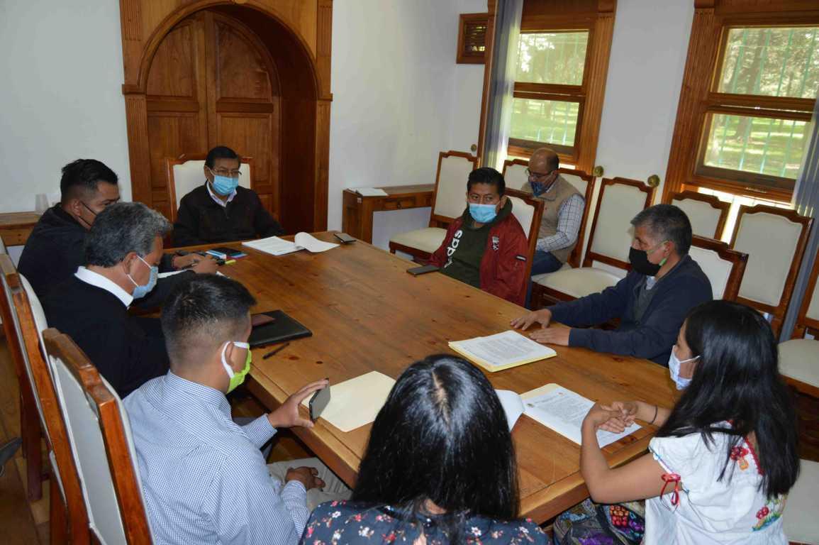 Acuerdan CGE y comunidades de Chiautempan fortalecer trabajos de conservación en La Malinche