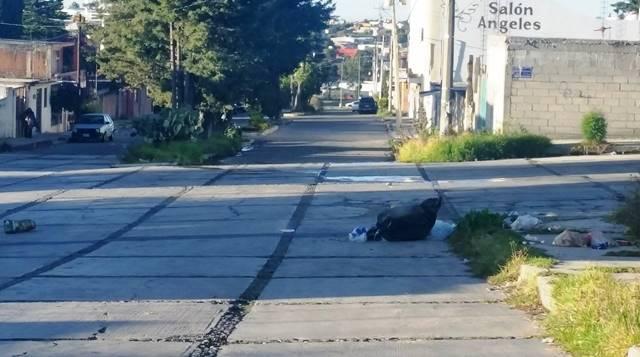 Deficiente la recolección de basura en calles de Apizaco