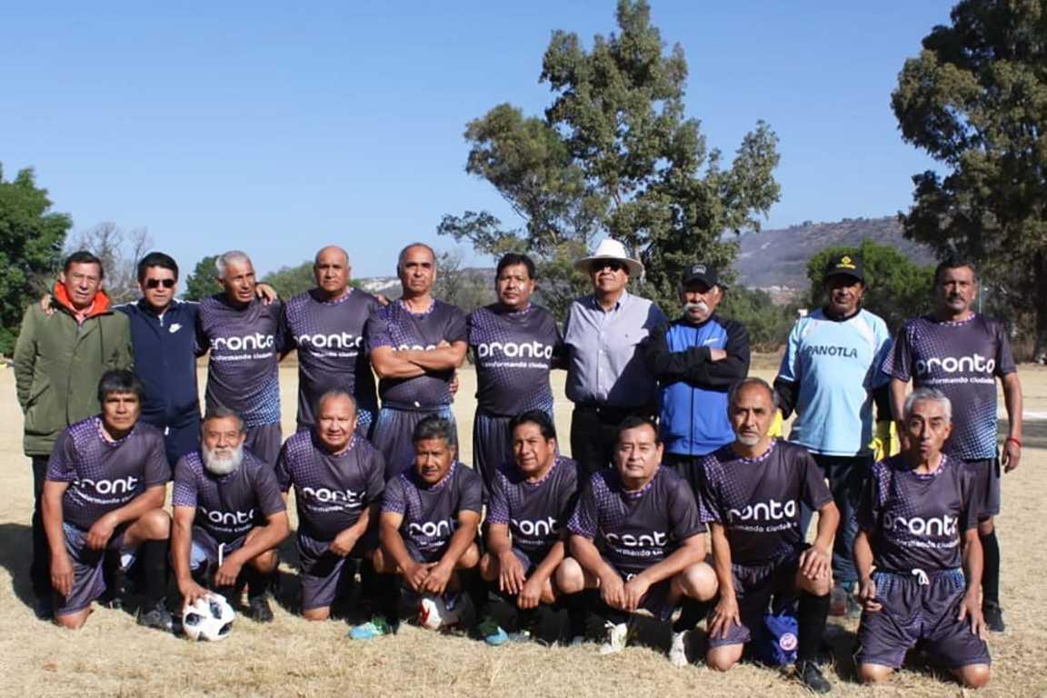 Eymard Grande apoya al Club de Futbol Deportivo Panotla