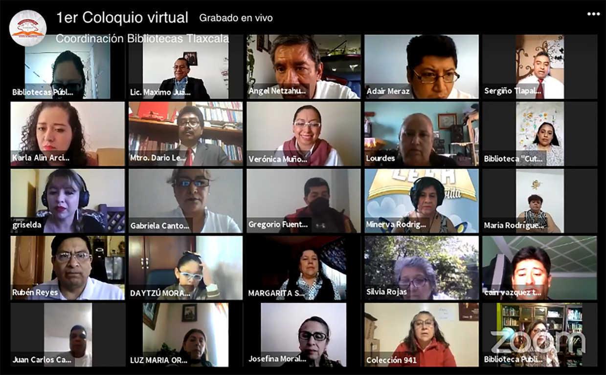 Celebra SEPE coloquio virtual de lectura