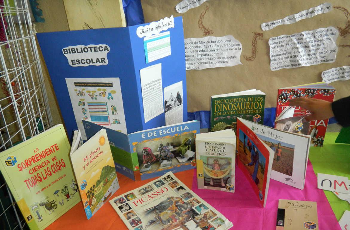 Promueven maestros de misiones culturales salas populares de lectura
