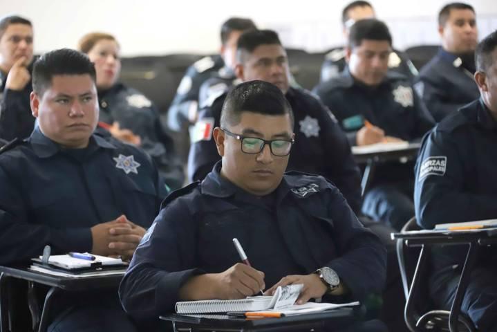 Capacita CESESP a 240 policías municipales