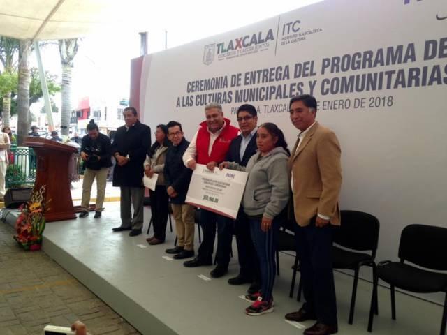 Más de 800 mil pesos entregados a proyectos culturales