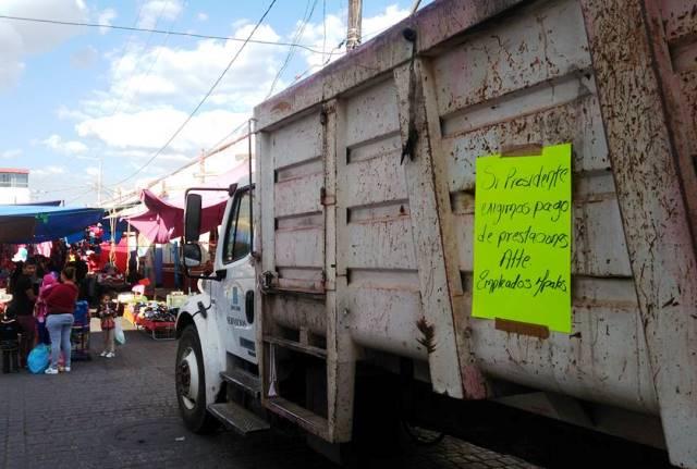 Pagos de trabajadores en Calpulalpan están garantizados