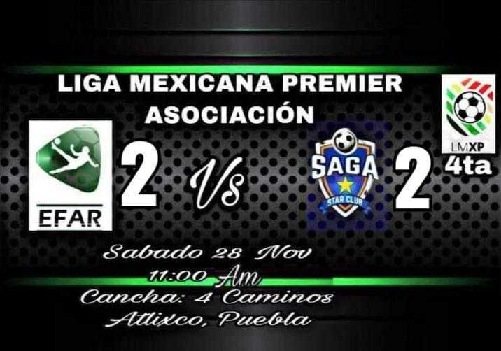 Saga Tlax Club empata, buscando el liderato de la cuarta división