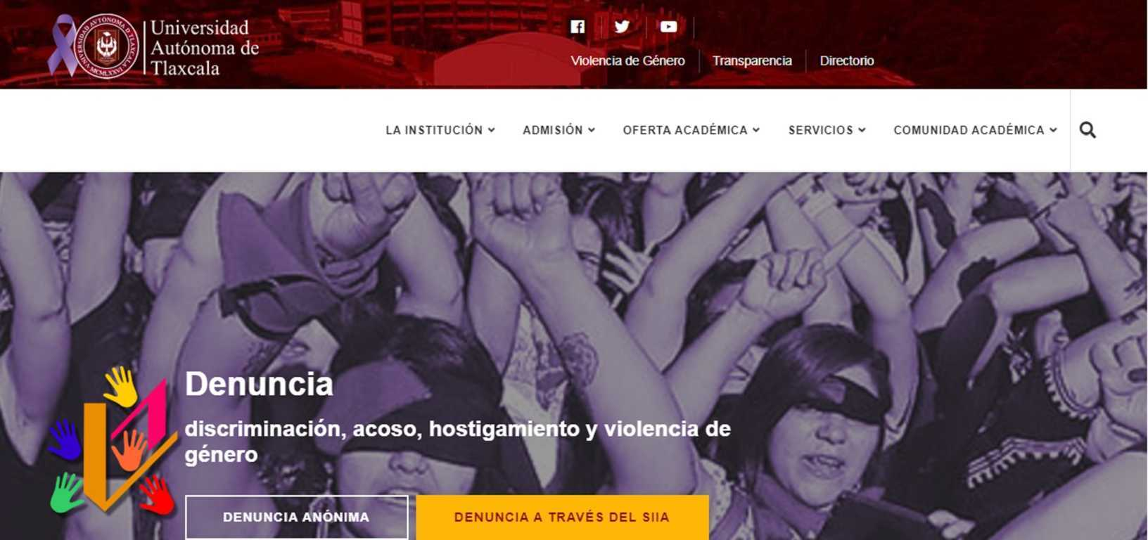 Implementa UATx ventanilla virtual para denuncia de violencia de género