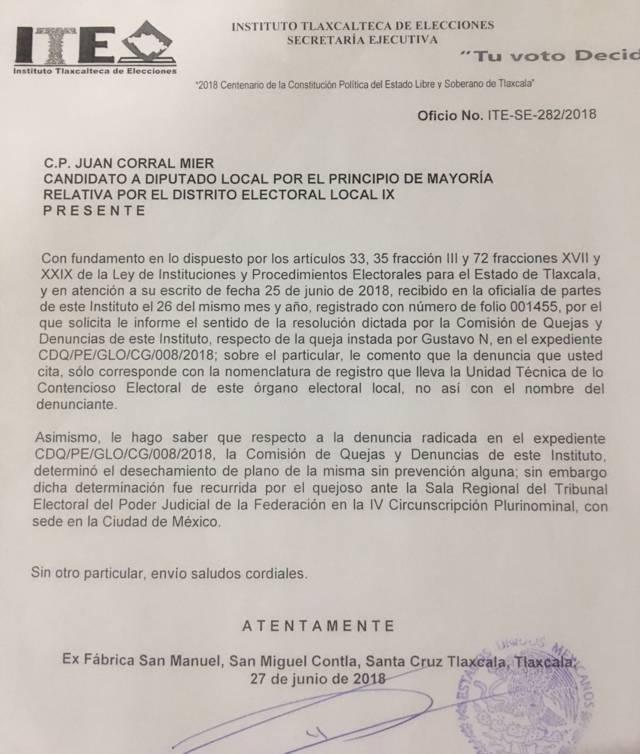 Anticipa MORENA derrota de su candidata al distrito 09 Chiautempan y La Magdalena Tlaltelulco
