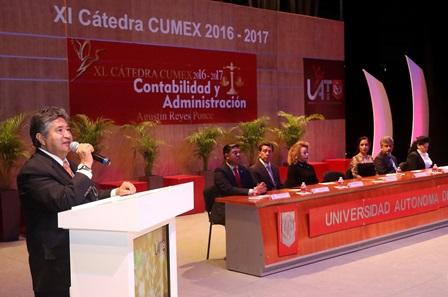Se desarrolla en la UAT la XI Cátedra CUMex Agustín Reyes Ponce