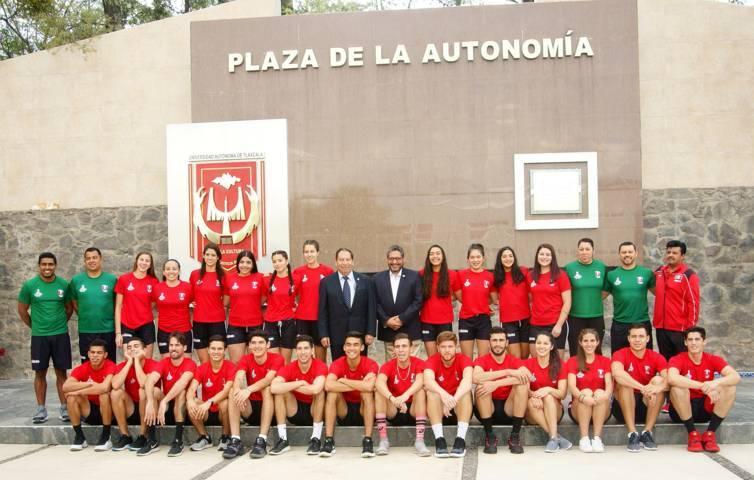 UATx Presentó a la Selección Nacional Universitaria de Voleibol